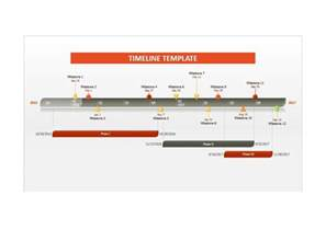 Excel Project Timeline Template by 33 Free Timeline Templates Excel Power Point Word