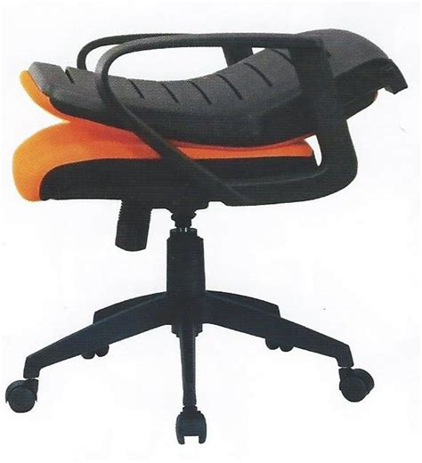 oyster folding back office chair