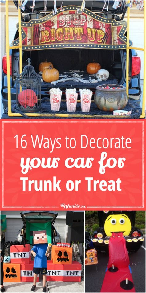 Decorate Your Car For - 16 ways to decorate your car for trunk or treat tip junkie