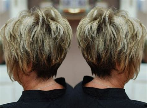 feathery haircuts for mature women short feathered hairstyles for older women