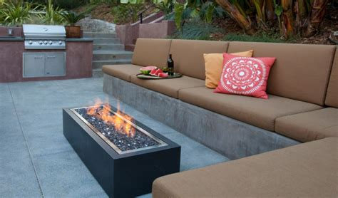 Small Outdoor Gas Pit 21 Outdoor Pit Designs Ideas Design Trends