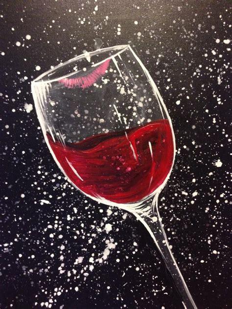 pinots palette des moines wine painting wine art