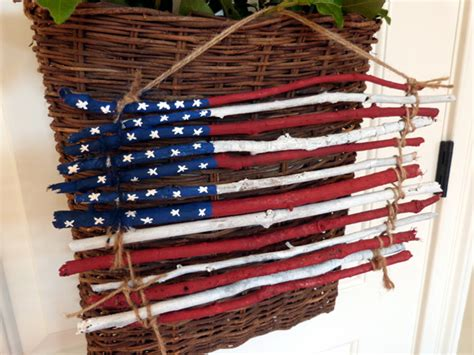 American Flag Decorations by Rustic American Flag Decor Pettit Designs