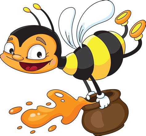 Free Honey Bee Clip by Busy Bee Clipart Clipart Suggest