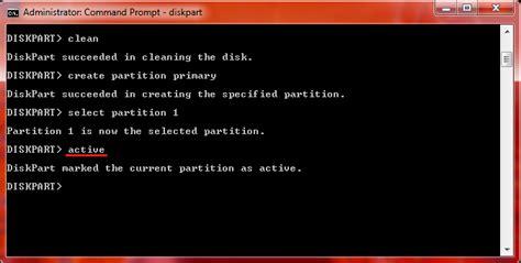 format flashdisk untuk booting windows 7 cara menginstal windows 7 dengan flashdisk yang bootable