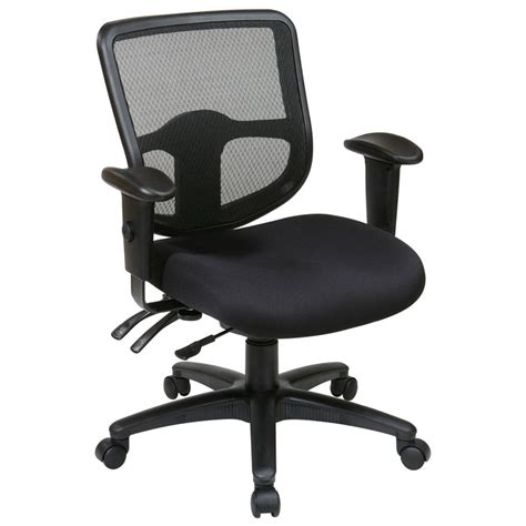 dual control recliner chairs pro line ii progrid back ergonomic task chair with dual