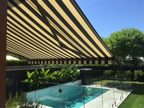 awnings gold coast gold coast fabric awnings at all season awnings