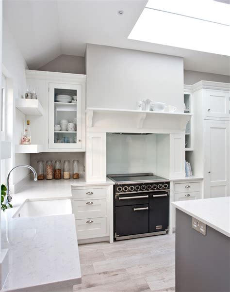 white granite kitchen worktops white kitchens with the wow factor the room edit