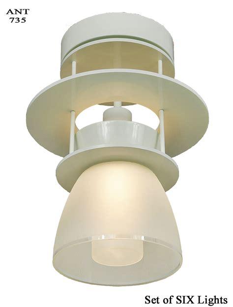 mid century semi flush mount lighting vintage hardware lighting deco midcentury modern