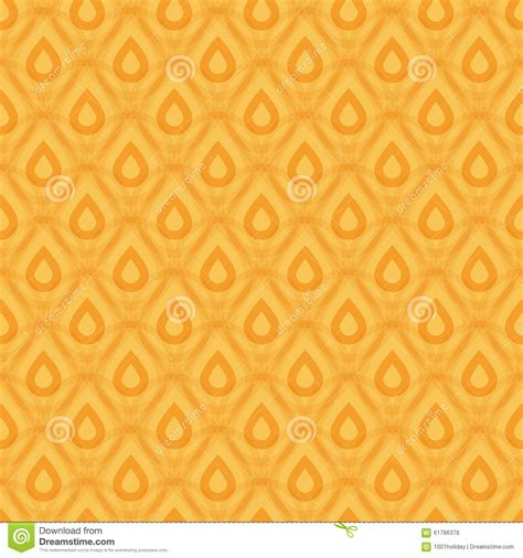seamless pattern design illustrator pineapple texture seamless pattern stock vector
