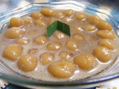 cara membuat bubur sumsum dari beras resep bubur candil aneka jajanan bandung