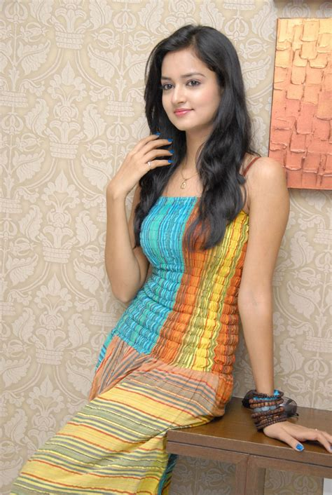 heroine cute photos lovely heroine sanvi cute photo shoot stills