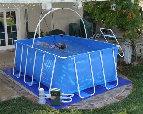 Backyard Exercise Pools Swimmer S Treadmill Ipool Exercise Swimming Pool