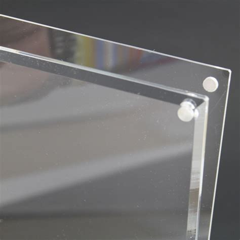a4 acrylic poster display stand acrylic leaflet holders