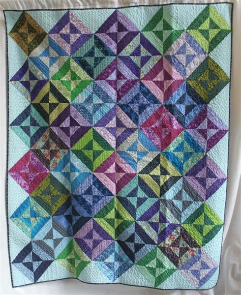 Hourglass Quilt by In Search Comfort Quilts Hourglass