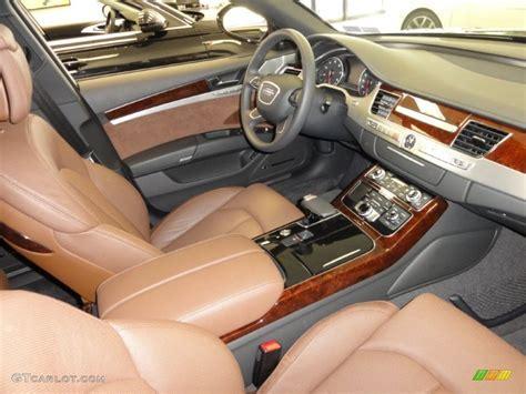 Audi A8 Nougat Brown Interior by Nougat Brown Interior 2011 Audi A8 4 2 Fsi Quattro Photo