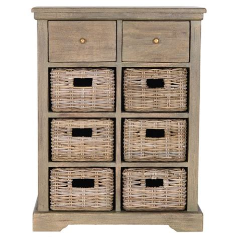 wooden storage cabinet with wicker baskets 14 best images about simple cabinet on pinterest pantry
