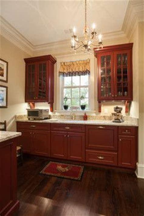 Houzz Black Kitchen Cabinets kitchen with barn red cabinets brass hardware a dark