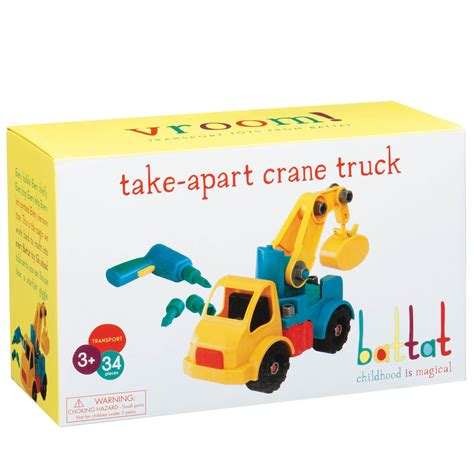 to take apart toys for 2 year old boys amazon com battat take a part vehicle crane old model