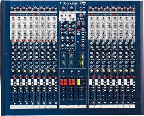 Mixer Soundcraft Spirit Lx7 24 Cnl soundcraft lx 7 ii 16 thomann