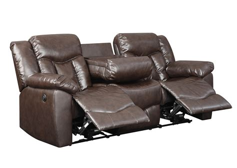leather motion sofa best buy furniture and mattress chocolate bonded leather