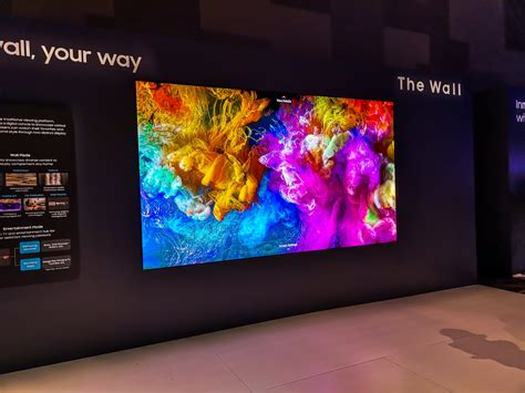 remember samsungs massive wall tv    bigger