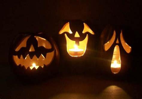 Pumpkin Candle Pumpkin Candle Holder Gadgetsin