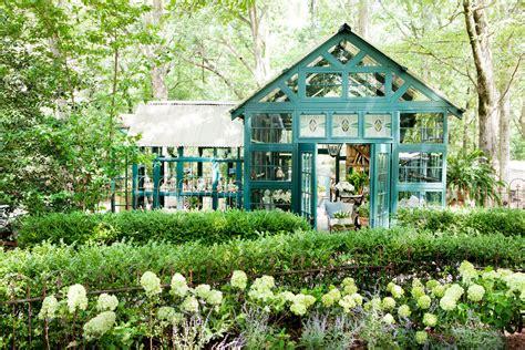 susanne hudson garden retreat backyard  shed ideas