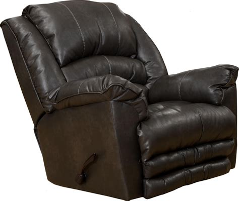 bonded leather recliners fillmore godiva bonded leather recliner from catnapper