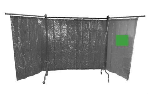 tende per saldatura schermo e struttura mobile per aree di saldatura tenda verde