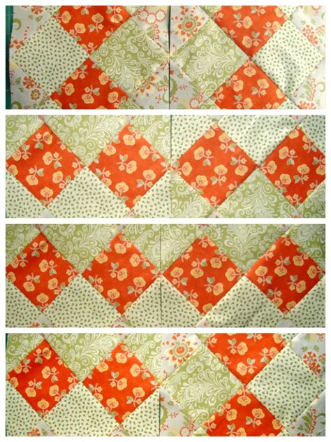 Disappearing 4 Patch Quilt Block by Disappearing 16 Patch Quilt Block Tutorial