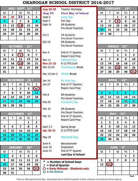 School Calendar Parent Information Virginia Grainger School Calendar