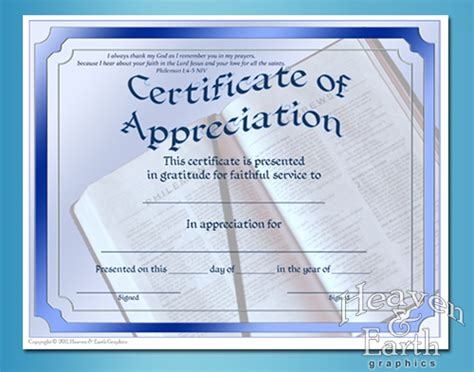 church certificate templates appreciation certificates certificate theme appreciation