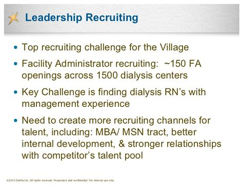 Davita Mba Careers by Successful Healthcare Recruiting Strategies Lessons
