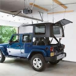 Jeep Roof Hoist Harken Jeep Storage Hoister System Garage Ceiling Pulley