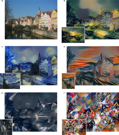 deep dream styles new neural algorithm can paint photos in style of any