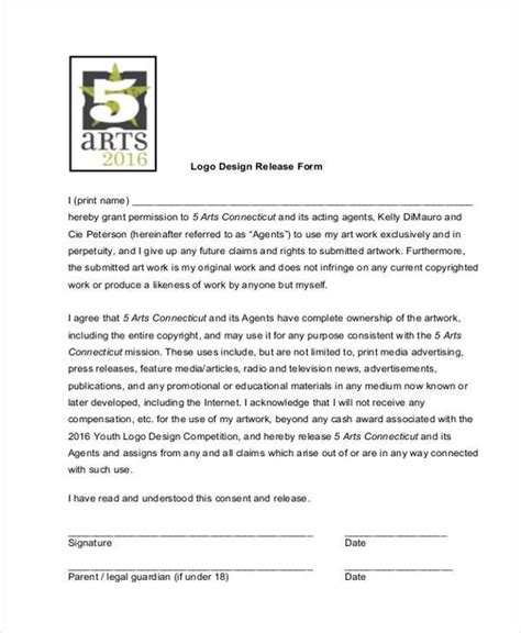 Copyright Release Letter Photography Template artwork release form api 510 sle questions for