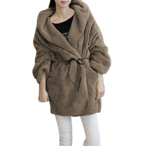 Jaket Coat Trendy trendy quality fleece thick hooded coat hoodie sweater jacket cardigan ebay
