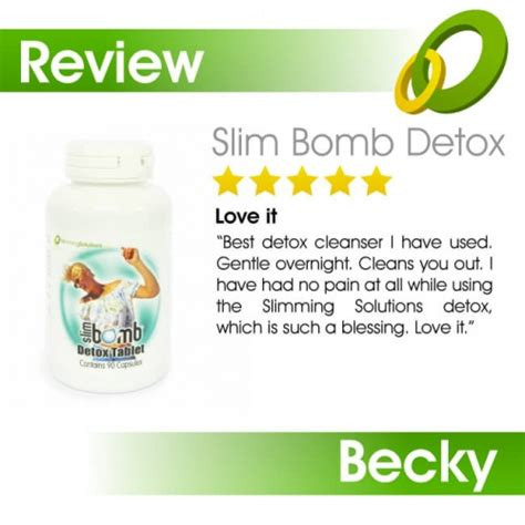 Best Detox Solutions by Detox Tablet By Slim Bomb Slimming Solutions