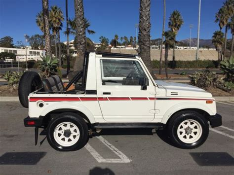 Suzuki Jx For Sale Suzuki Samurai Jx 4x4 For Sale In Santa Barbara