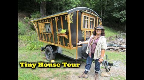 talya s tiny house tour youtube gypsy tiny house on wheels tour youtube