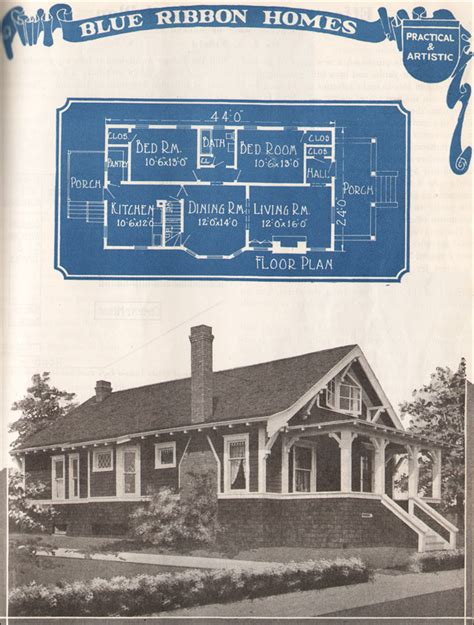 1921 blue ribbon homes by william a radford publishing