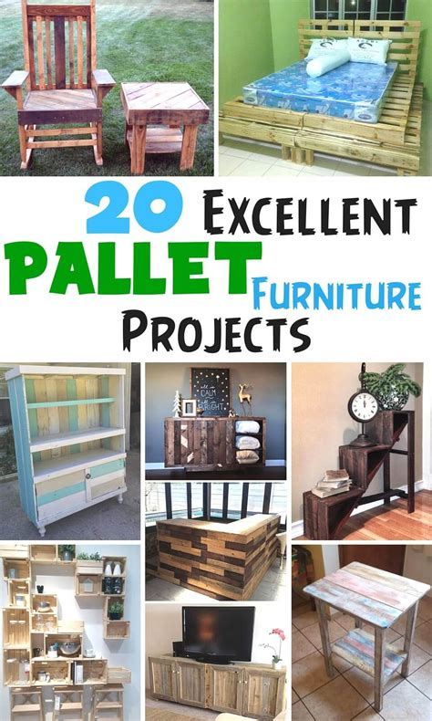 amazing pallet furniture projects for home 101 pallets 20 excellent pallet furniture projects 101 pallets