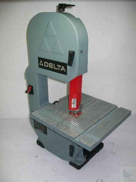 delta bench top band saw model 28 180 ebay
