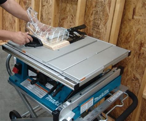 makita 10 table saw makita 2705x1 10 inch contractor table saw with stand