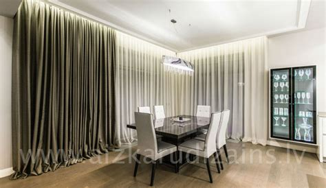 Dining room curtains   Curtain design