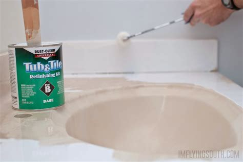 how to glaze a bathtub remodelaholic painted bathroom sink and countertop makeover