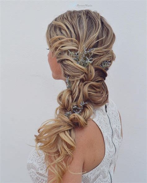 wedding hairstyles with side braid side braid wedding hairstyle get inspired by fabulous
