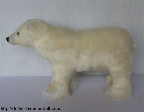 How To Make A Polar Out Of Paper - stuffed polar