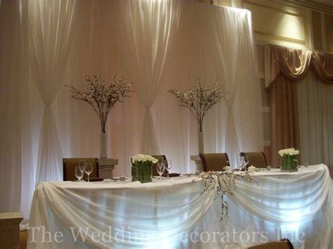 33 best images about wedding head table decorations on